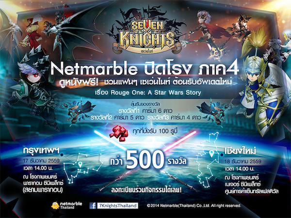 เกมดัง Seven Knights เตรียมปล่อย Patch ใหม่และ Netmarble