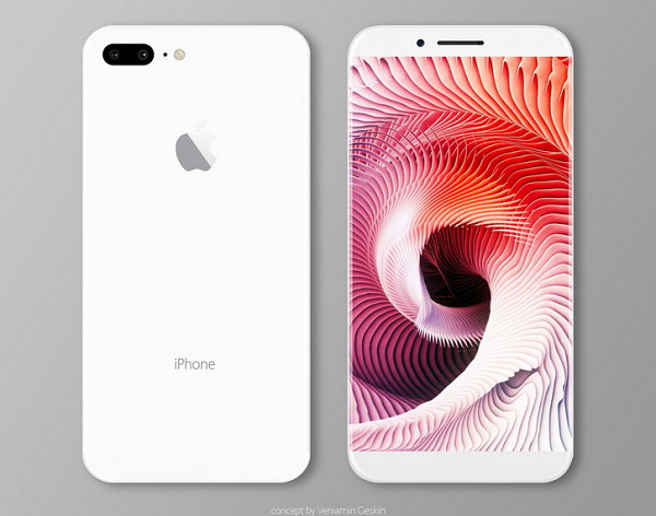 Concept iPhone 8 by Veniamin Geskin