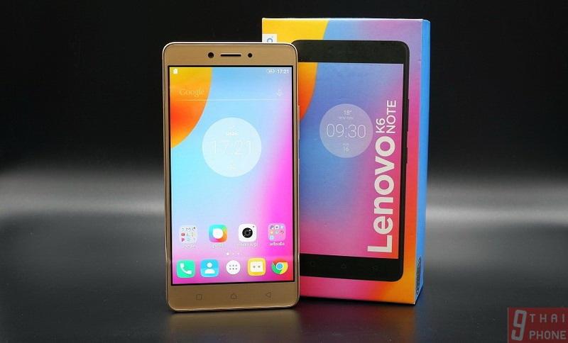 รีวิว Lenovo K6 Note