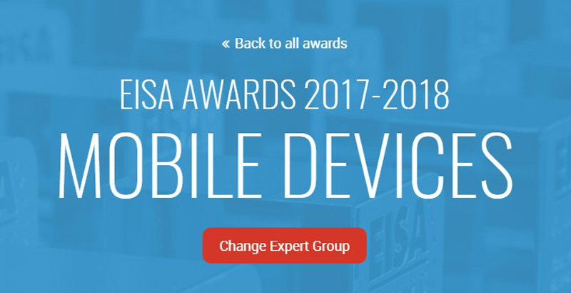 EISA awards 2017-2018