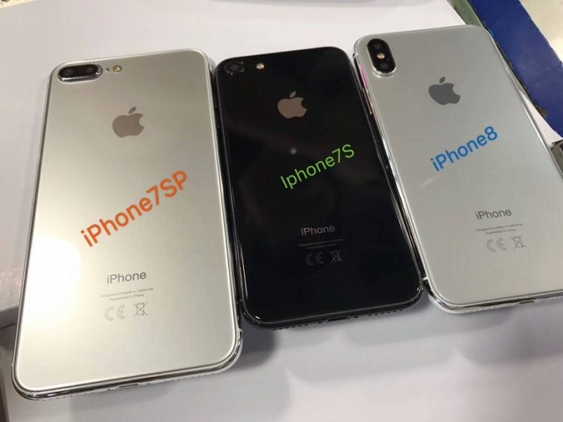 iPhone 8, iPhone 7s และ iPhone 7s Plus