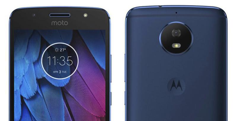 Moto G5S Midnight Blue..