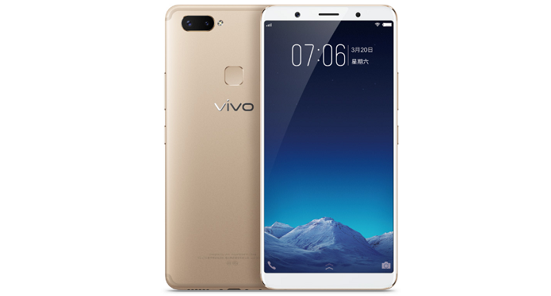 vivo X20 Plus_Gold