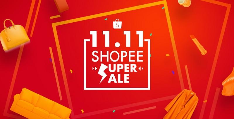 เทศกาล 11.11 Shopee Super Sale