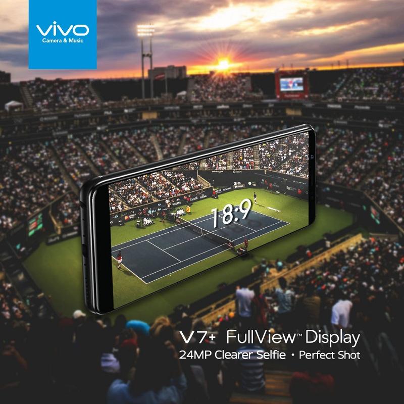 vivo v7 FullView Display