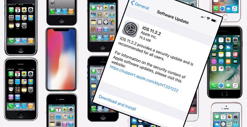 Apple iOS 11.2.2
