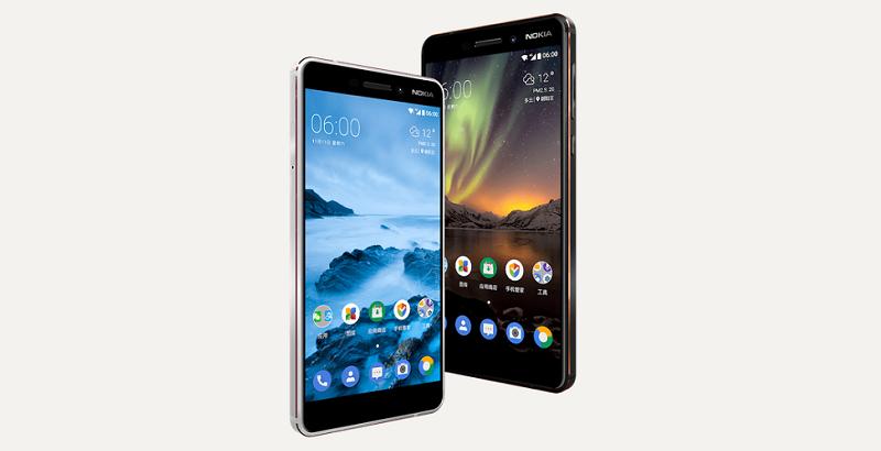 Nokia 7 และ Nokia 6 (2018)