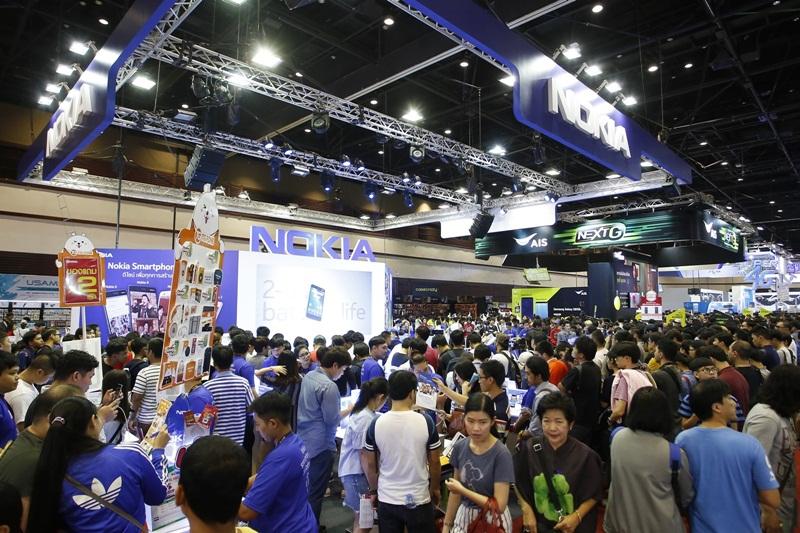 04บูธ Nokia ในงาน Thailand Mobile Expo 2018