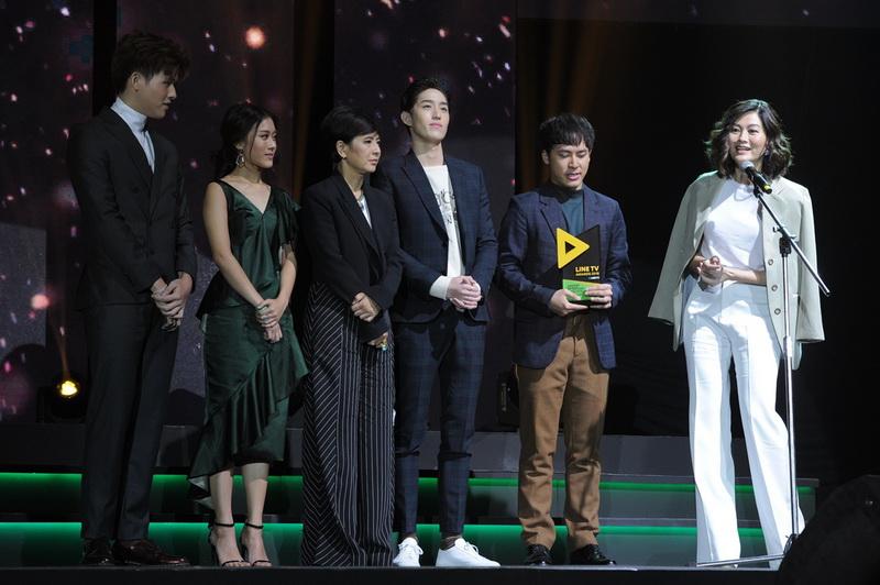 10 บรรยากาศการมอบรางวัล LINE TV AWARDS 2018