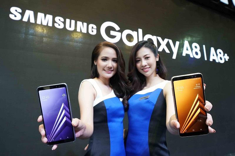 Samsung Galaxy A8 และ Galaxy A8+ (2018)