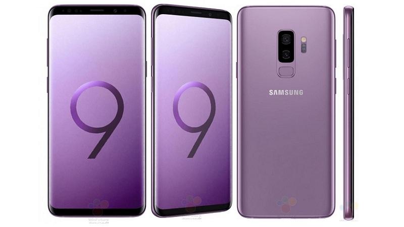 Samsung Galaxy S9+ in Lilac Violet