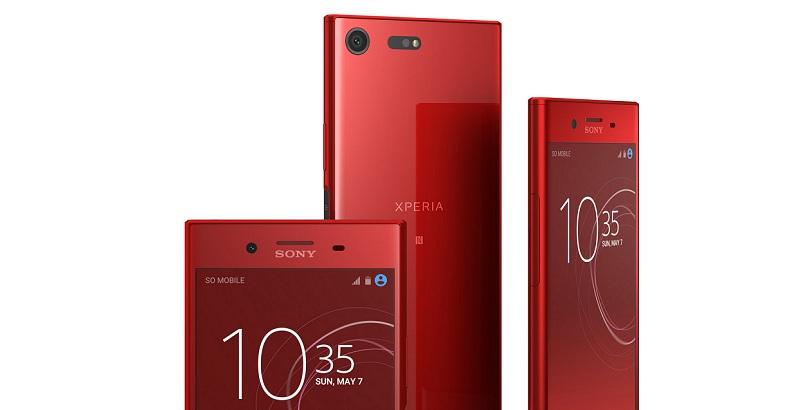 Sony Xperia XZ Premium สีแดง Rosso