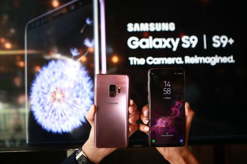 """Samsung unveils """"Galaxy S9S9+_03."""