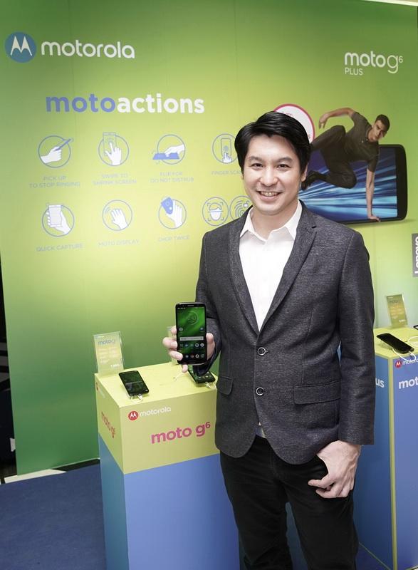 คุณศิวกร ดำรงภัทร ผู้จัดการทั่วไปประจำประเทศไทย กลุ่มผลิตภัณฑ์สมาร์ทโฟน