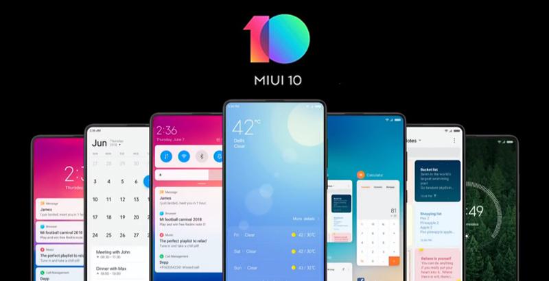 Xiaomi Phone Update MIUI 10
