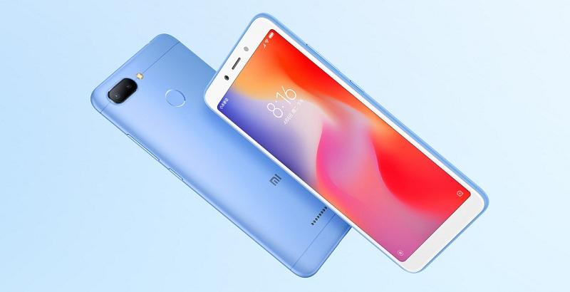 Xiaomi Redmi 6A, Xiaomi Redmi 6