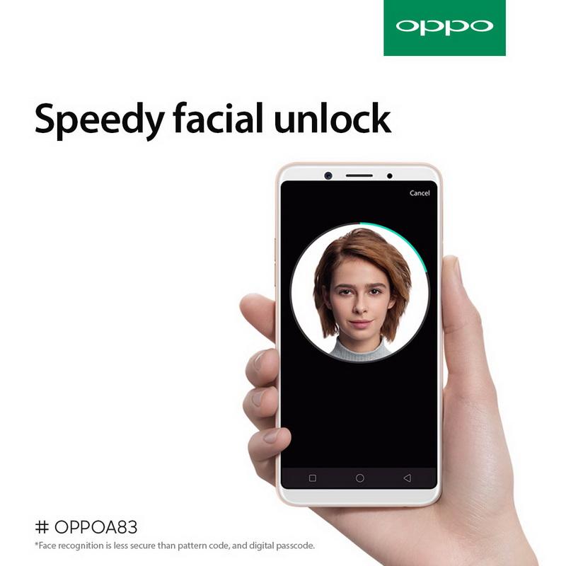 Facial unlock