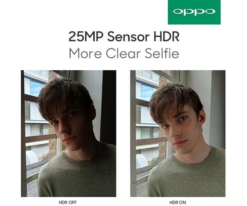 25MP Sensor HDR