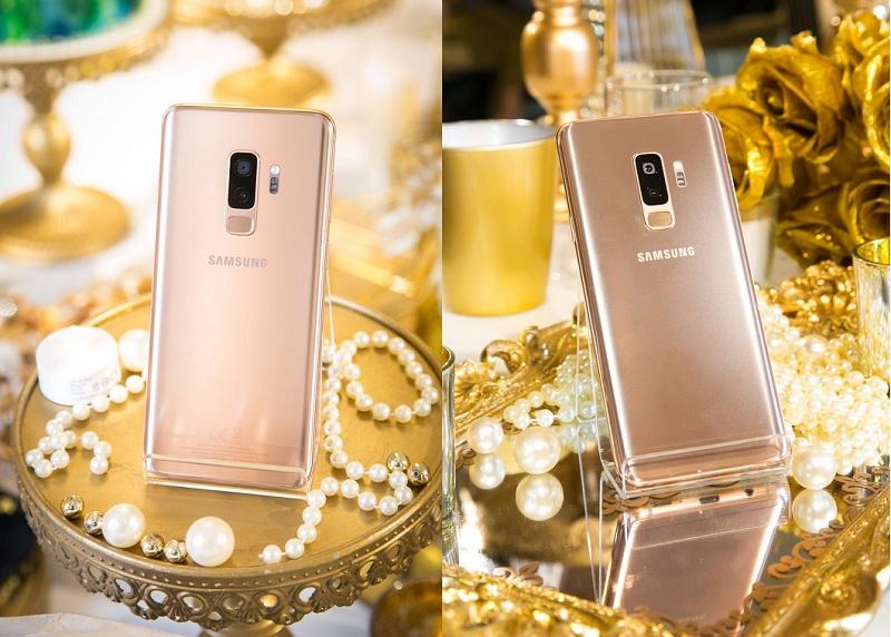 Galaxy S9+ Sunrise Gold