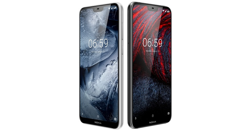 Nokia 6.1 plus_Rational_Front_Quarter_Left_ROW_JPG_WHITE