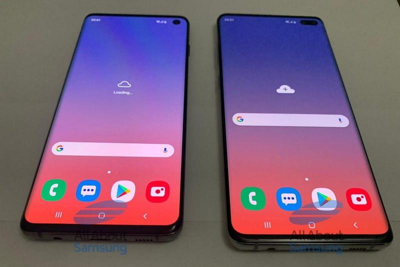 Samsung Galaxy S10 และ Galaxy S10+