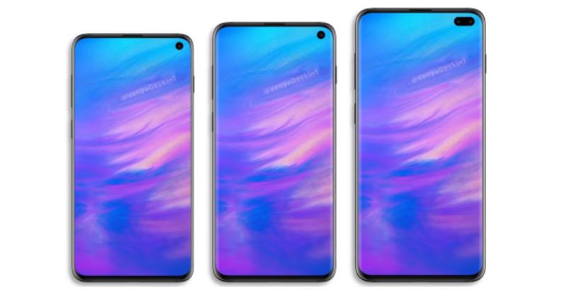 Samsung Galaxy S10 Lite, Galaxy S10 และ Galaxy S10+