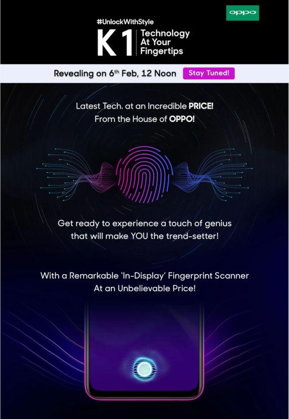 OPPO-K1-India-launch-teaser