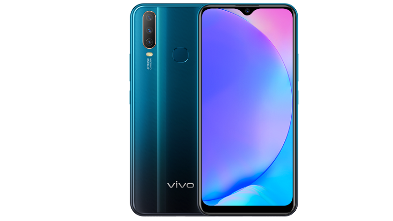 Vivo V17 Mineral Blue