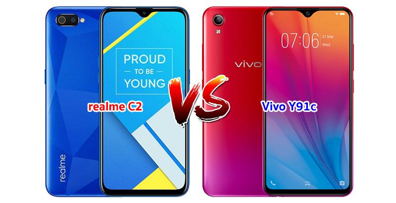 realme-C2-vs-Vivo-Y91C
