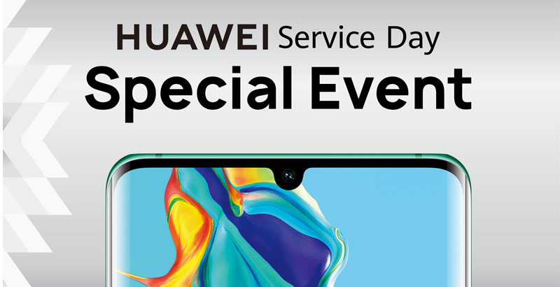 Huawei Service Day banner