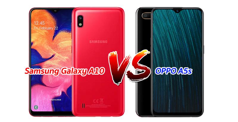 Samsung-Galaxy-A10 vs OPPO A5s
