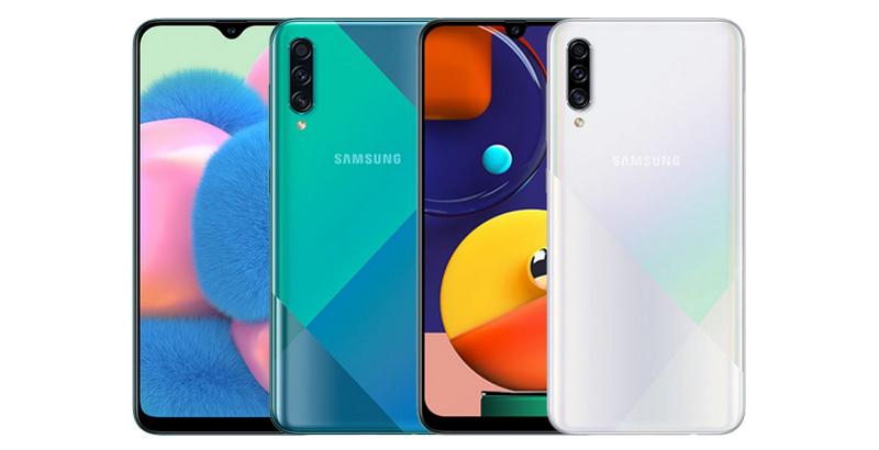 Galaxy A50s และ Galaxy A30s