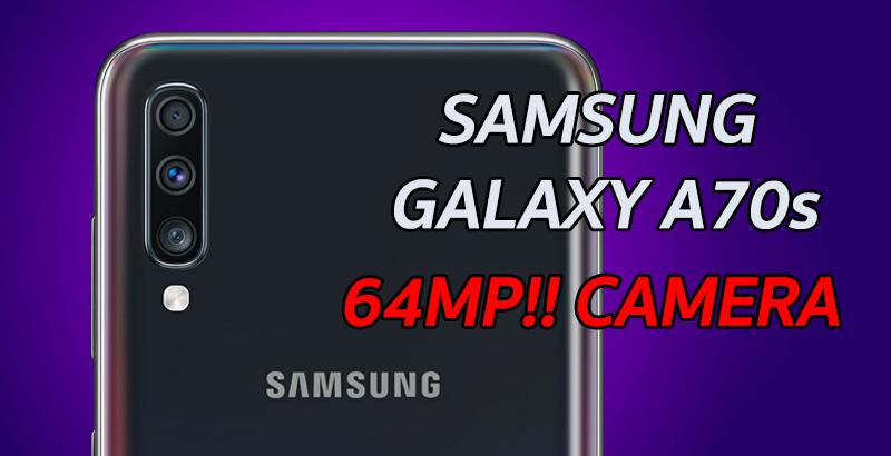 Samsung Galaxy A70s 01