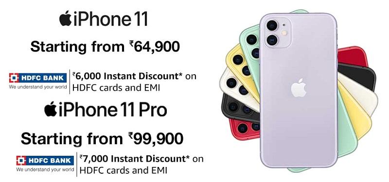 iPhone-11-India-HDFC