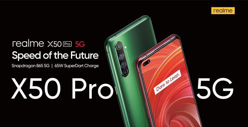 new realme X50 Pro 5G
