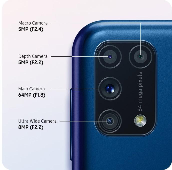 Galaxy M31_Quad camera