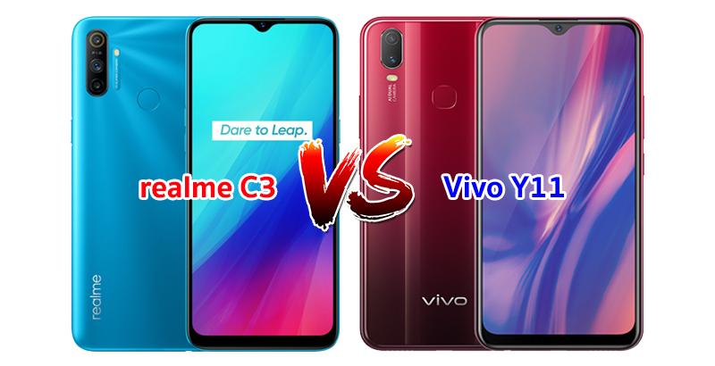 realme C3 vs Vivo Y11