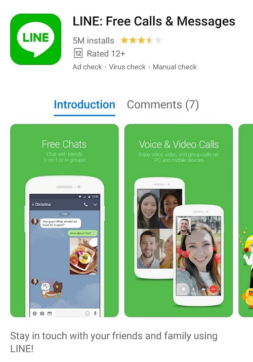 LINE available on AppGallery