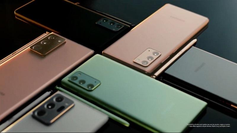Galaxy Note 20, Note 20 Ultra